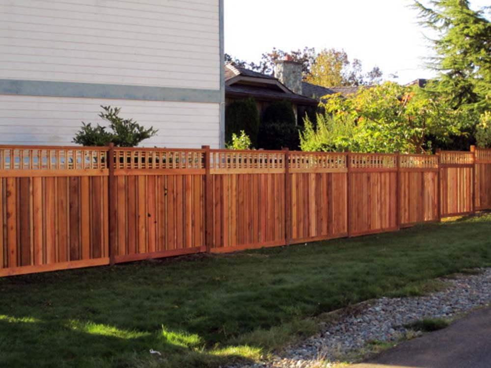 Vancouver Island S 1 Wood Fence Manufacturer And Installer